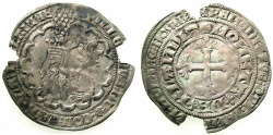 World Coins - LOW COUNTRIES.HOLLAND.Willem V 1351-1389.AR.Groot.
