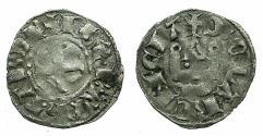 World Coins - CRUSADER STATES.Principality of ACHAIA.Philip of Taranto AD 1307-1313.Bi.Denier.Type PT2. Obverse retrograde letter S