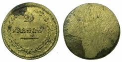 World Coins - ITALY.MILAN?Brass weight for French 20 Gold Francs. circa 1799-1814.