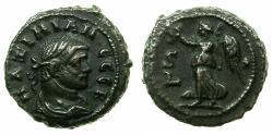 Ancient Coins - EGYPT.ALEXANDRIA. Maximianus Heraclius AD 286-305.Billon tetradrachm, struck AD 290/291.Reverse.Nike left.
