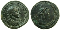 Ancient Coins - MOESIA INFERIOR.NIKOPOLIS AD ISTRUM.Gordian III AD 238-244.AE.30mm.~#~.Hermes standing left.