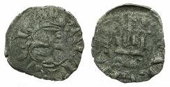 World Coins - CRUSADER.GREECE.Principality of ACHAIA.Robert of Taranto AD 1333-1364.Billon Denier.Type A1. Unpublished with D'CLARENCIA legend.