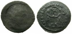 Ancient Coins - ROMAN.4th cent AD.AE.Follis, mistrike.