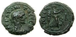 Ancient Coins - EGYPT.ALEXANDRIA.Tacitus AD 275-276.Billon Tetradrachm, struck AD 275/76. Reverse. Nike right.