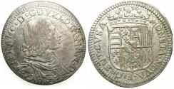 World Coins - ITALY.FLORENCE.Nicolas Francois of Lorraine AD 1634-1637.AR.Testone 1634