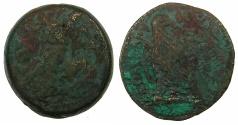 Ancient Coins - PTOLEMAIC EMPIRE.EGYPT.ALEXANDRIA. Ptolemy IV 221-205 BC AE.Tetrobol.