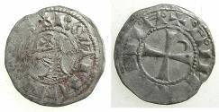 World Coins - CRUSADER STATES.Principality of ANTIOCH.Bohemond IV 1st period AD 1201-1216.Bi.Denier.class J.