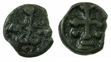 Ancient Coins - BYZANTINE EMPIRE.Romanus II AD 959-963.AE.18.7mm. Mint of CHERSON.