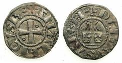 World Coins - CRUSADER STATES.Kingdom of Jerusalem.Amaury AD 1163-1174.Bi.Denier.Type 7a. Holy Sepulchre