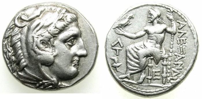 Ancient Coins - MACEDON.AMPHIPOLIS.Alexander III 336-323BC.AR.Tetradrachm, posthumus issue.