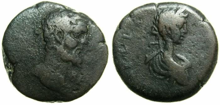 Ancient Coins - PHOENICIA:BERYTUS.Septimius Severus and Caracalla AD 193-211.AE.24.5mm.