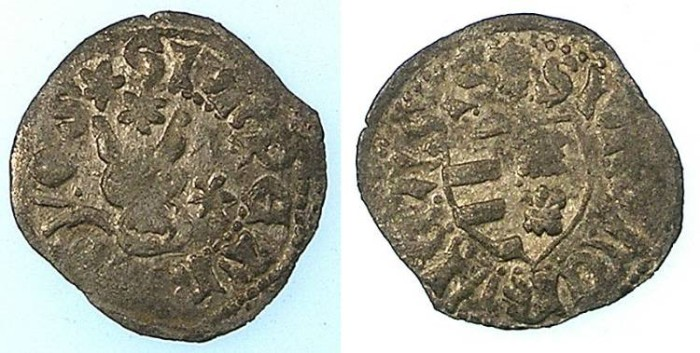 Ancient Coins - MOLDAVIA.Peter Musat 1377-1391.Billon Groschen.