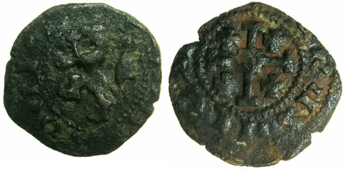 World Coins - CRUSADER STATES.CYPRUS.James II AD 1460-1476.AE.Sezin.