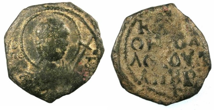Ancient Coins - CRUSADER.ANTIOCH.Tancred AD 1104-1112.AE.Follis.1st type