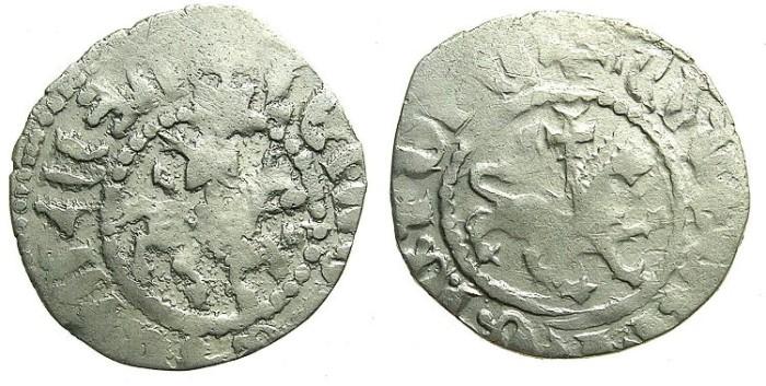 Ancient Coins - ARMENIA.Levon IV 1320-1342.AR.Takvorin.Sigla L-M. Mint of Sis.