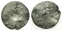 World Coins - ARMENIA, Cilician Kingdom.Levon The Usurper AD 1363-1365.AR.Takvorin.Mint of SIS.*****Damaged coin.