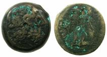 Ancient Coins - PTOLEMAIC EMPIRE.EGYPT.ALEXANDRIA.Ptolemy VI Philometor 180-145 BC,Joint reign with Ptolemy VIII 170-164/3 BC.