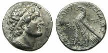 Ancient Coins - PTOLEMANIC EMPIRE.CYPRUS.PAPHOS.Ptolemy VI Philometer 180-145 BC.AR.Tetradrachm.struck 161/0 BC.