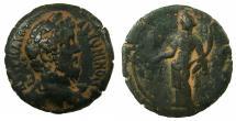 Ancient Coins - EGYPT.ALEXANDRIA.Marcus Aurelius Augustus AD 161-180.AE.Drachma, struck AD 164/65. ~#~.Dikaiosyne.
