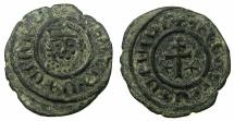 World Coins - ARMENIA, Cilician kingdom. Levon I 1198-1219.AE.Tank.Mint of SIS. ***Ex J.Slocum collection ***