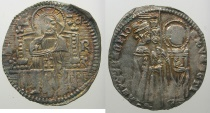 World Coins - ITALY.VENICE.Antonio Venier 1382-1400.AR.Grosso.2nd type.Sigla R