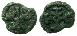 Ancient Coins - BYZANTINE EMPIRE.John I Tzimisces AD 969-976.AE.17.9mm.Mint of CHERSON.