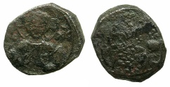 Ancient Coins - BYZANTINE EMPIRE.Alexius I Comnenus AD 1081-1118.AE.Tetateron.Mint of CONSTANTINOPLE.