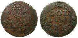 World Coins - CRETE ( Regno di Candia ) under VENICE.Anonymous issue.AE.10 Tornesi( 21/2 soldi ).Struck circa 1611-1619.