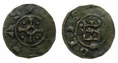 World Coins - CRUSADER STATES. TRIPOLI.Bohemond IV or V Circa AD 1233-52-75.AE.Fraction.Type 6.
