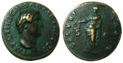 Ancient Coins - ROME.Otho AD 69.AE.'Sestertius' Paduan medallion after Giovanni da Cavino ( AD 1500-1570 ), later after cast.