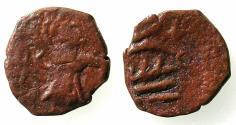 World Coins - ITALY.CAPUA.Pandolfio Capodiferro AD 961-981.AE.Follaro fraction.
