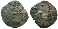 World Coins - CRUSADER STATES.GREECE.EPIRUS.John II Orsini 1323-1335.Bi.Denier.Struck at ARTA.Obverse.+IOS... Not recorded?