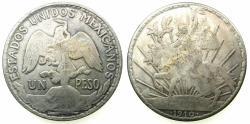 World Coins - MEXICO.AR.One Peso 1910.