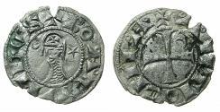 World Coins - CRUSADER STATES.Principality of Antioch. Bohemond IV 1201-1233 or Bohemond V 1233-1251 Bi.Denier.