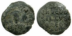 Ancient Coins - BYZANTINE EMPIRE.Constantine VII Porphyrogenitus AD 913-959.AE.Follis.Mint of CONSTANTINOPLE.