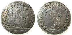 World Coins - ITALY.VENICE.Alvise I Moncenigo AD 1570-1577.AR.40 Soldi.Assayer BP ( Beneto Pisani ).