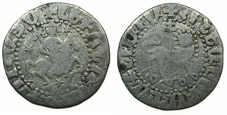 World Coins - ARMENIA, Cilician kingdom.Levon II AD 1270-1289.AR.Tram.Mint of AYAS.