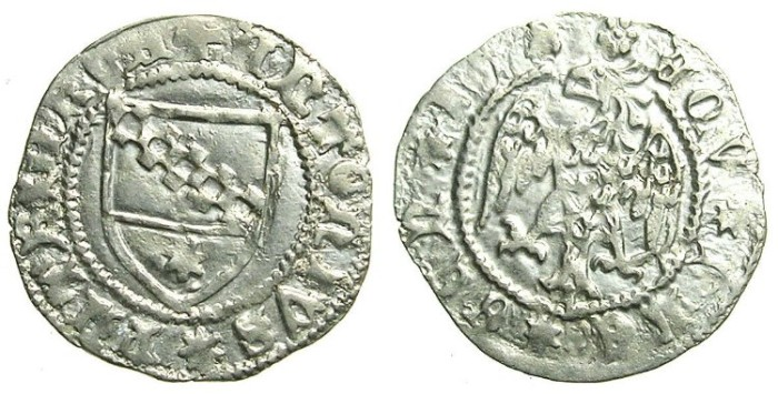 Ancient Coins - ITALY.AQUILEIA.Antonio II Pauciera 1402-1411.AR.Denaro.