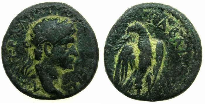Ancient Coins - SYRIA.SELECUS AND PIERIA.GABALA.Trajan AD 98-117.AE.17mm.