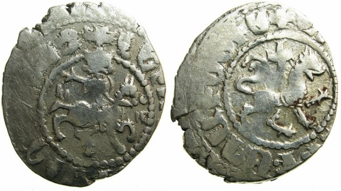 Ancient Coins - CILICIAN ARMENIA.Levon IV AD 1320-1342.AR.Takvorin.Sigla G-M.Mint of SIS.