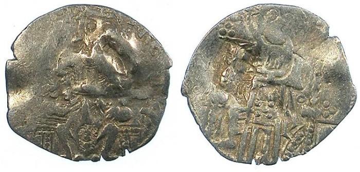 Ancient Coins - SERBIA.Stefan VIII Uros IV Dusan, as Emperor 1346-1355.AR.Dinar.
