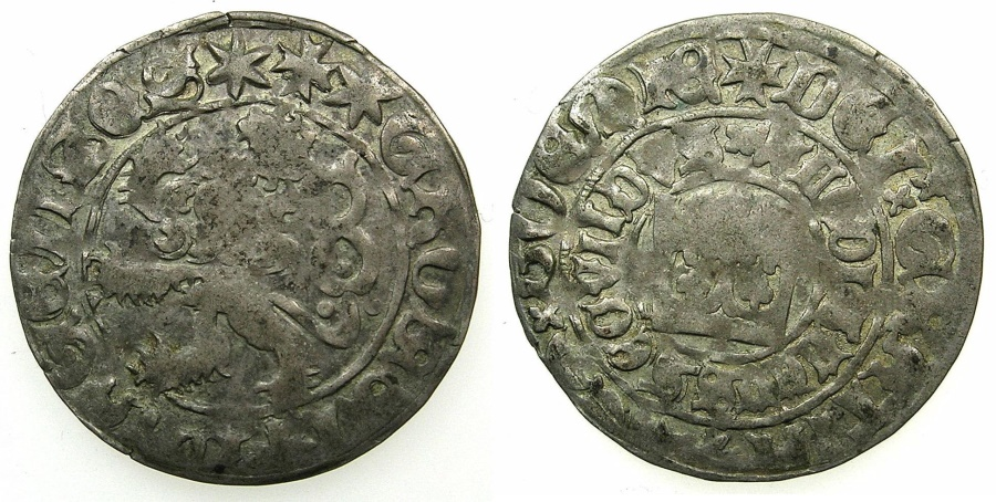 World Coins - BOHEMIA.Wladislav II Jagellonsky AD 1471-1516.AR.Prage groshen Kettenburg ( Kutna Hora ) mint.