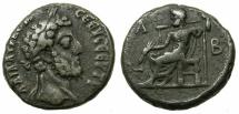 Ancient Coins - EGYPT.ALEXANDRIA.Commodus AD 180-192.Billon Tetradrachma, struck AD 191/92.~#~.Zeus enthroned.