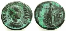 Ancient Coins - EGYPT.ALEXANDRIA.Gordian III AD 238-244.Billon Tetradrachm, struck AD 239/49.~#~.Eirine.