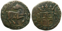 World Coins - ITALY.SAVOY.Carlo Emanuele I AD 1580-1630.AE.Cavallotto 1620 or 1628. Third Type.