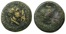 Ancient Coins - BITHYNIA.JULIOPOLIS.Vespasian AD 69-79.AE.22.4mm.Issue of M.Planicus Varus Procos.***SINGLE EXAMPLE RECORDED IN RPC I****