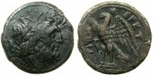 Ancient Coins - BRETTIUM.BRETTII.C.282-203 BC.AE.22.3mm.