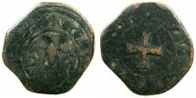 World Coins - CRUSADER STATES.GREECE.CHIOS.The Mahona.Domenico dio.Gio Antonio Giustiani Campi, Podesta 1529.AE.Doppio Tornesi.N.D