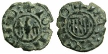 World Coins - ITALY.SICILY.John II AD 1458-1479.Billon Denaro.**** Unpublished legend varient?****
