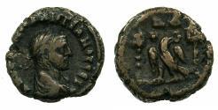Ancient Coins - EGYPT ALEXANDRIA.Diocletian AD 284-296.Bi.Tetradrachm. Eagle between vexillia